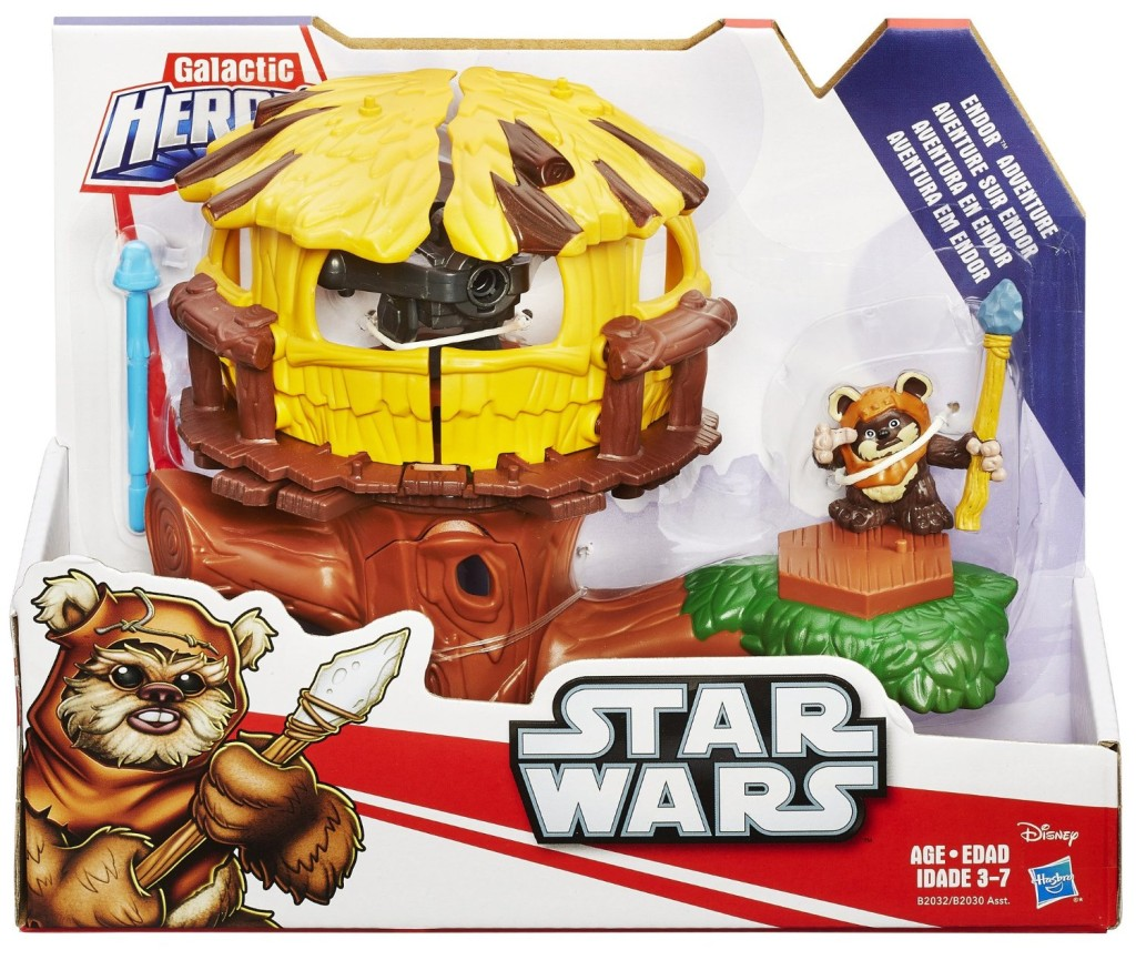 Playskool Heroes Ewok Village |The Best #StarWars #ForceFriday Finds! + Enter to #win a Sphero BB8