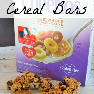 Blueberry Multi Grain Cereal Bars | Plus #GiveABox of @Cheerios to a friend! [ad]