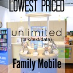 Selecting a Lowest Priced Unlimited Family Mobile Plan #FamilyMobileLive ad