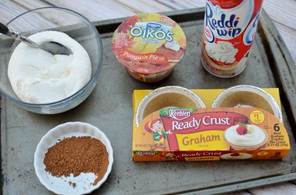 Mini no-bake Pumpkin Pie Cheesecakes | Easy as 1-2-3