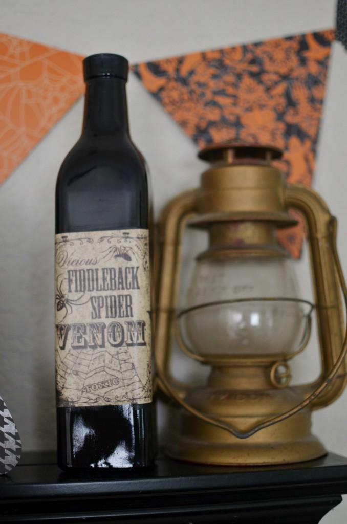 DIY Poison Bottles