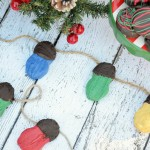 Festive holiday light and ornament cookies. AD #NuttyForTheHolidays