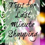 Dont't stress over last minute shopping. Use these tips to stick to your budget and save your sanity. #Christmas #tips