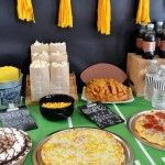 Are you ready for some football this weekend? Check out these super easy DIY football party ideas! ad #TeamPizza #CB