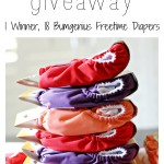 Enter to WIN 18 Bumgenius Freetime AIO in this huge cloth diaper stash giveaway. Get started cloth diapering or some fun new colors to add to your stash.