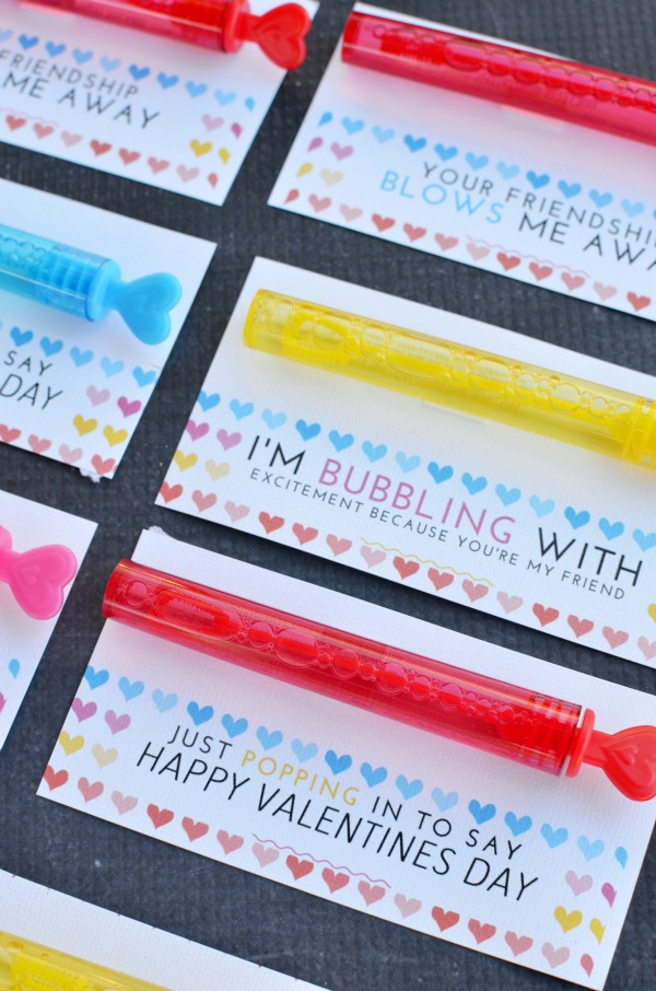 Bubble Valentines
