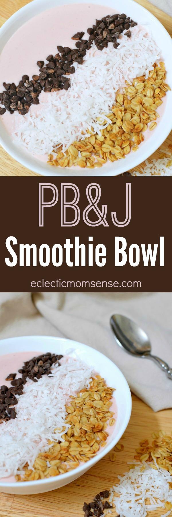 PB&J Smoothie Bowl
