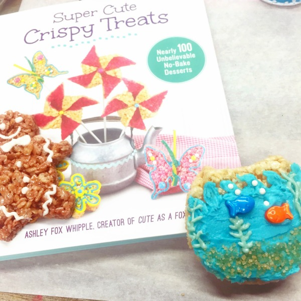 Finding Dory Fishbowl Crispy Treats |
