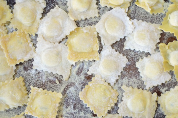 Homemade Cheese Ravioli in an hour