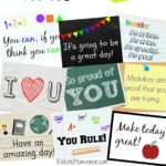 Printable Back to School Lunchbox Notes