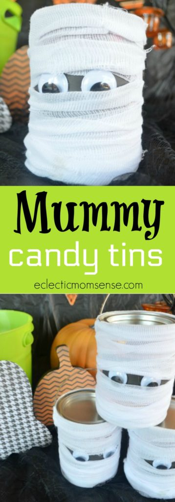 Mummy Candy Tins