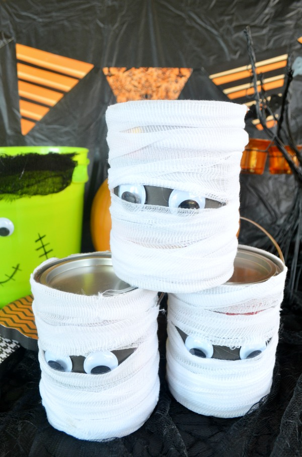 Mummy Candy Tins | #DIY Tutorial | DIY #Halloween