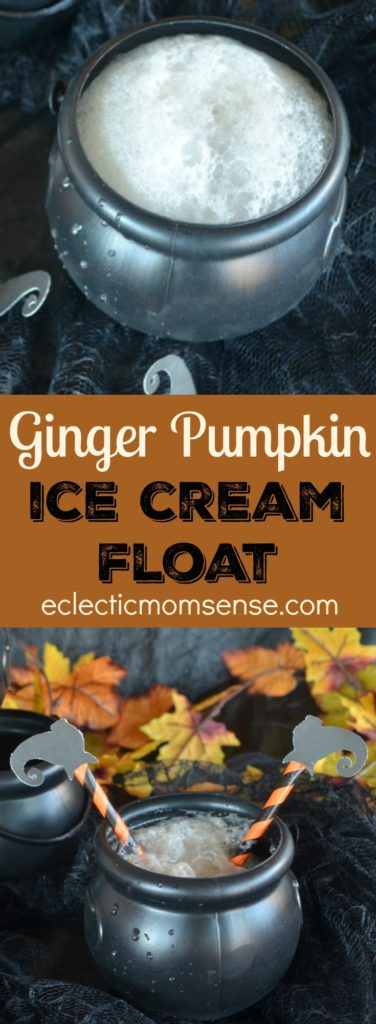 Pumpkin Ginger Ice Cream Float