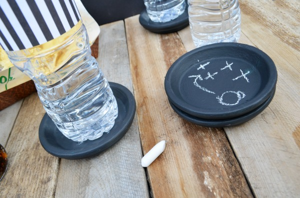 DIY Drink Containers + Football Coasters #ad #HandsOnCrafty