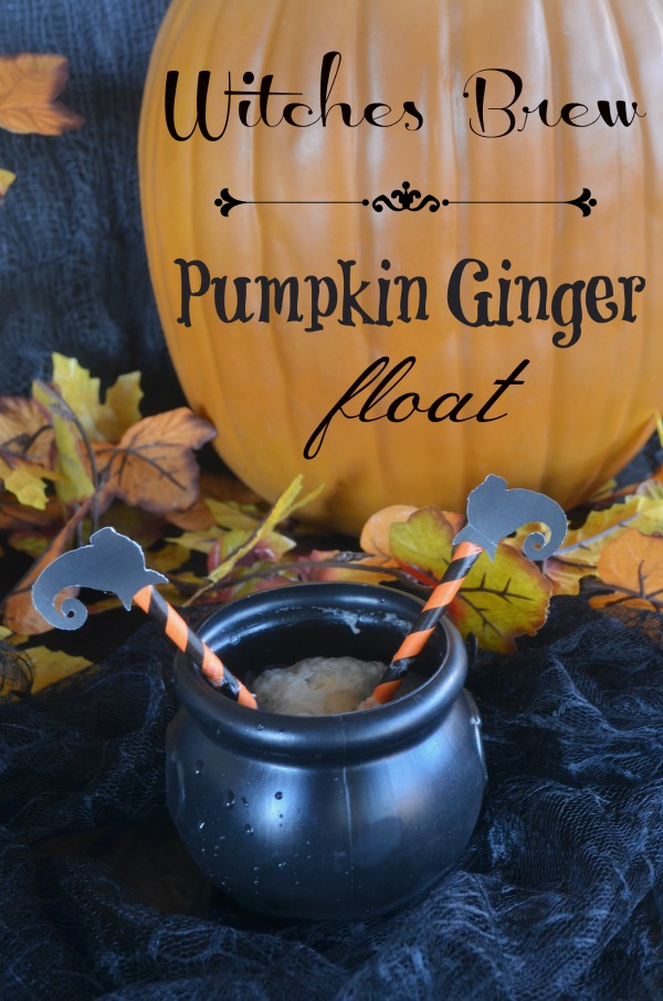 Pumpkin Ginger Float