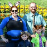 ZOOTOPIA Family Costumes! Easy group Halloween costume ideas.