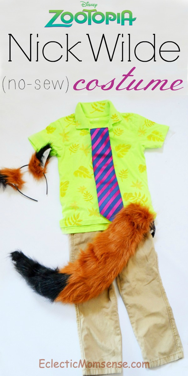 Nick Wilde costume | DIY Nick Wilde Shirt | ZOOTOPIA costume