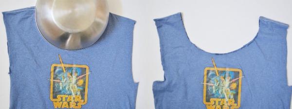 No-Sew T-Shirt Bag - Easy DIY upcycle.