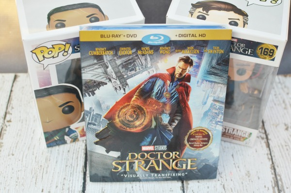 Doctor Strange on Blu-Ray/DVD+ Digital today! Own a part of the Marvel cinematic universe and a glimpse into some fun special features.