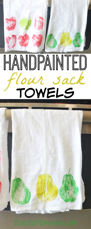 Handpainted Kitchen Towels