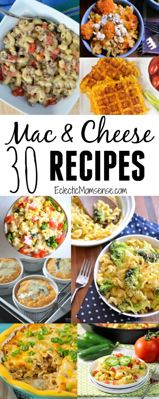 30 Macaroni and Cheese Recipes