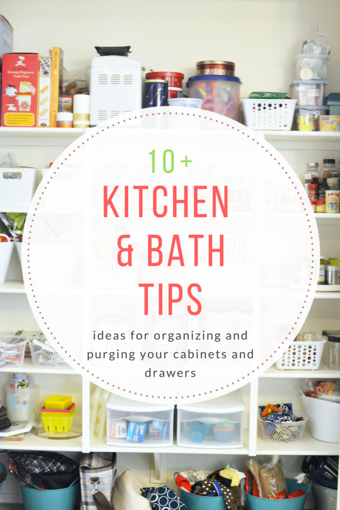 Kitchen & Bath Organization
