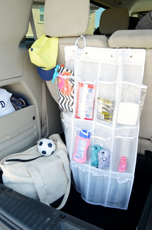 DIY Pocket Car Organizer