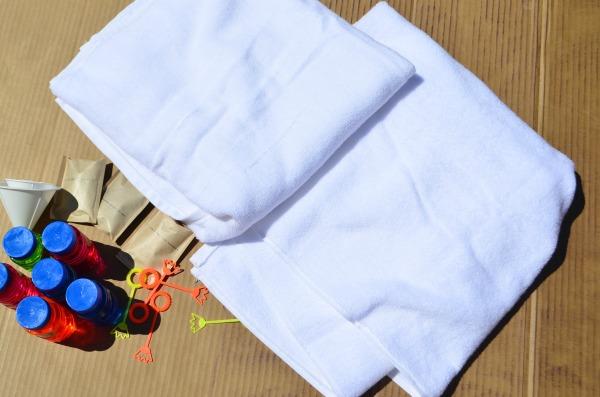 Splatter Paint Beach Towels.