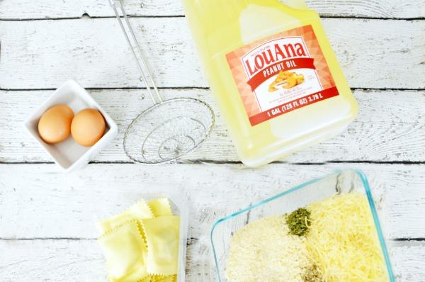 Fried Ravioli ingredients