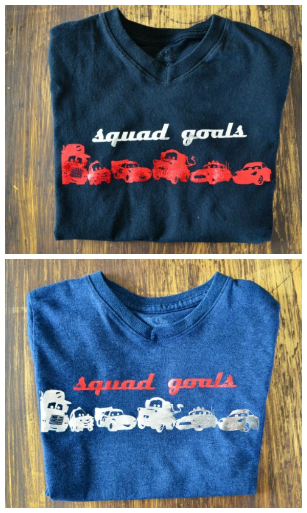 DIY Disney•Pixar's Cars Shirt