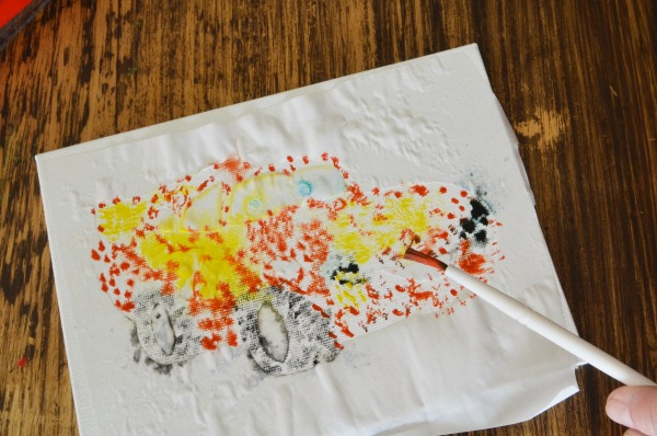 Watercolor Splatter Print