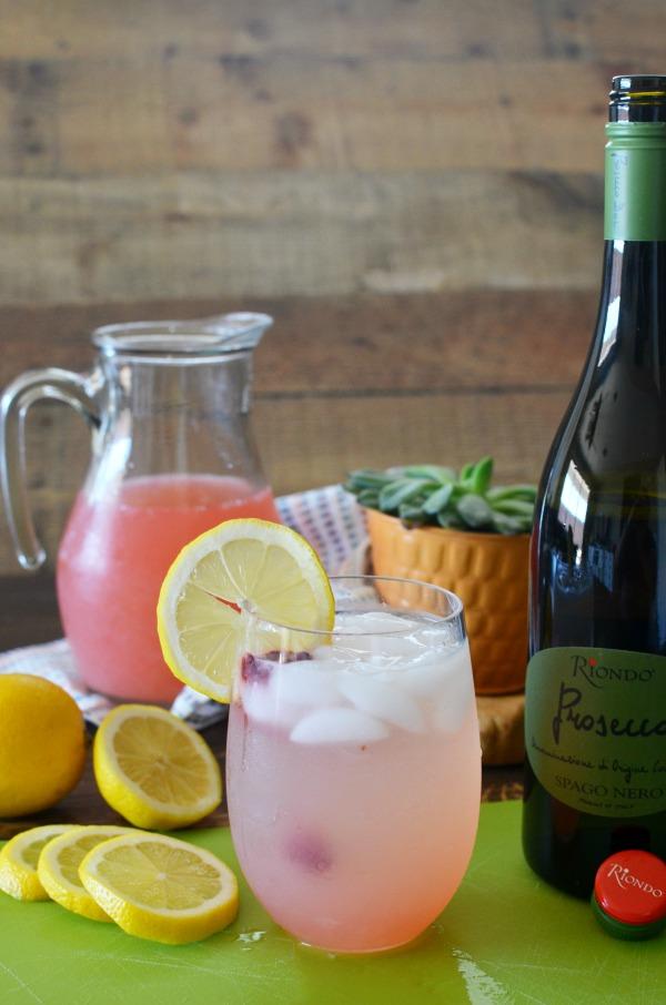 Sparkling Raspberry Lemonade Punch