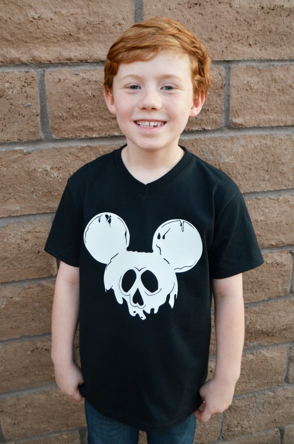 Halloween Mickey ears shirt