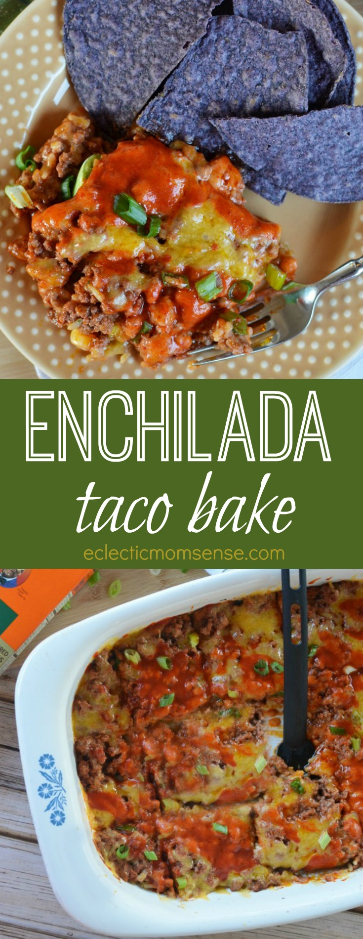 Enchilada Taco Bake