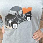 Vintage Truck with Pumpkins