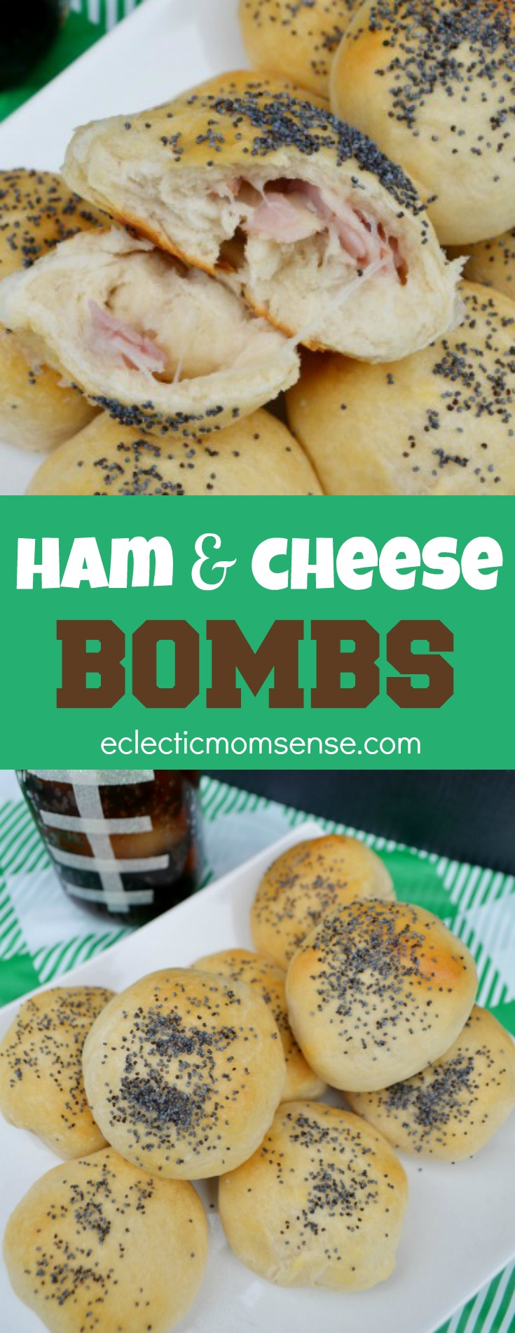 Ham and Cheese Bombs