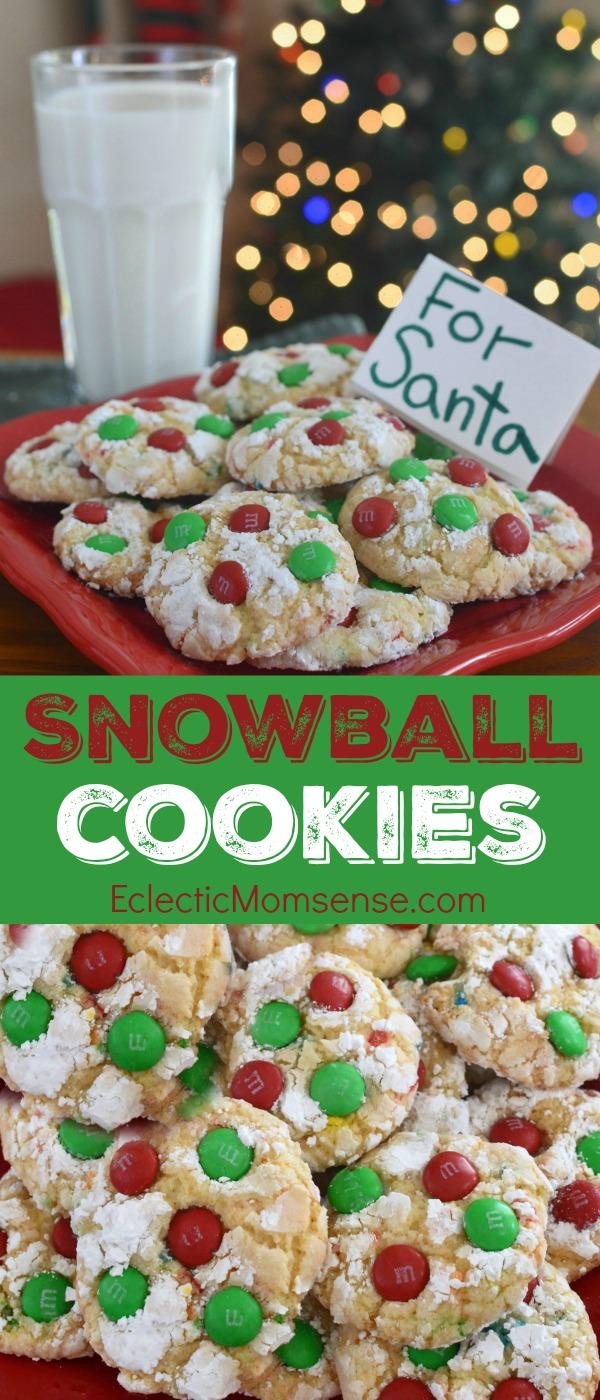 Holiday Snowflake Cookies