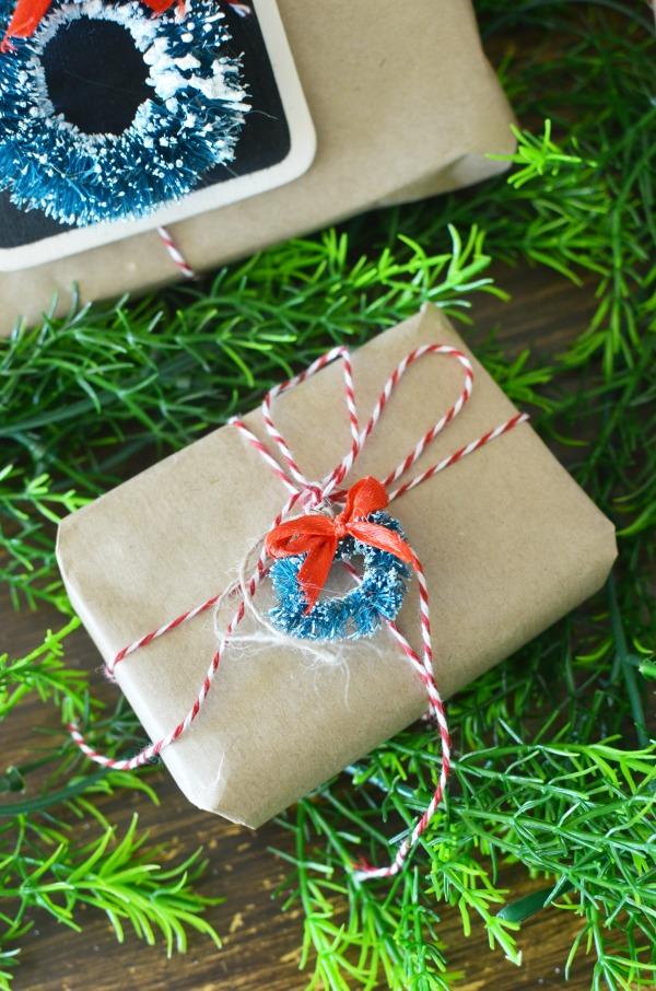 mini sisal wreath