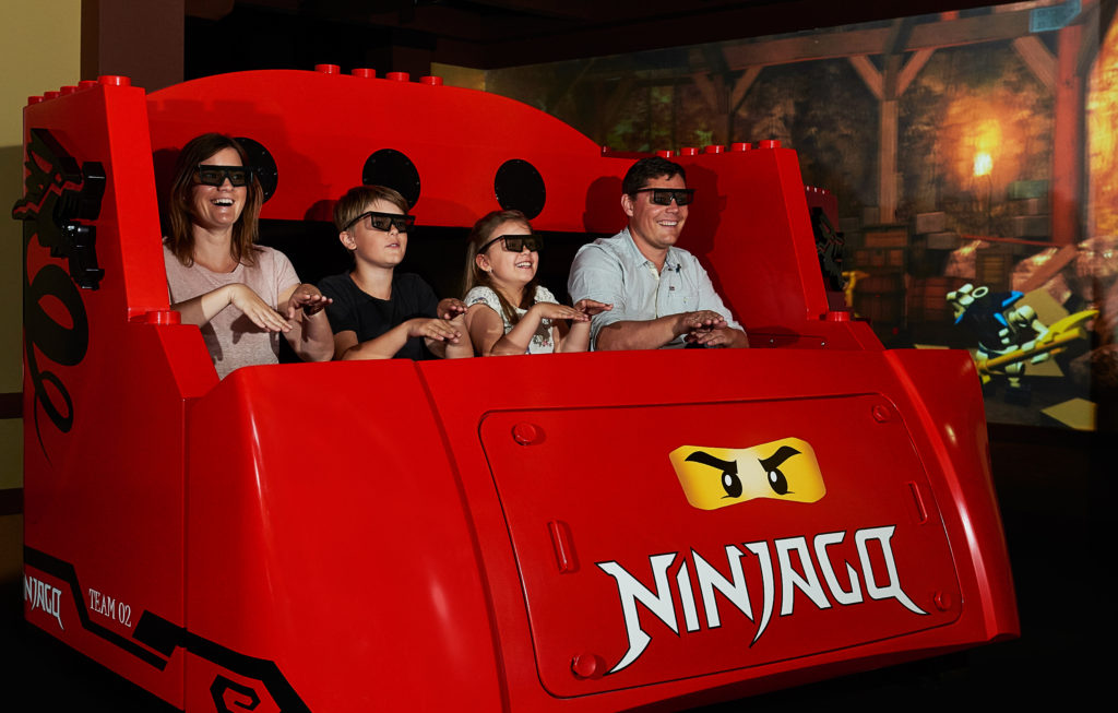 LEGOLAND Ninjago ride