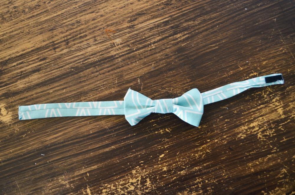 DIY boys bow tie