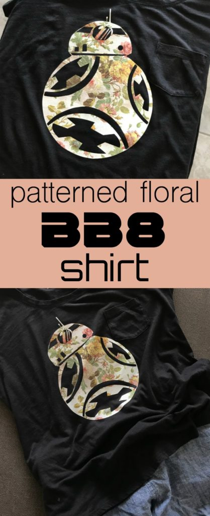 Patterned Floral BB8 Shirt