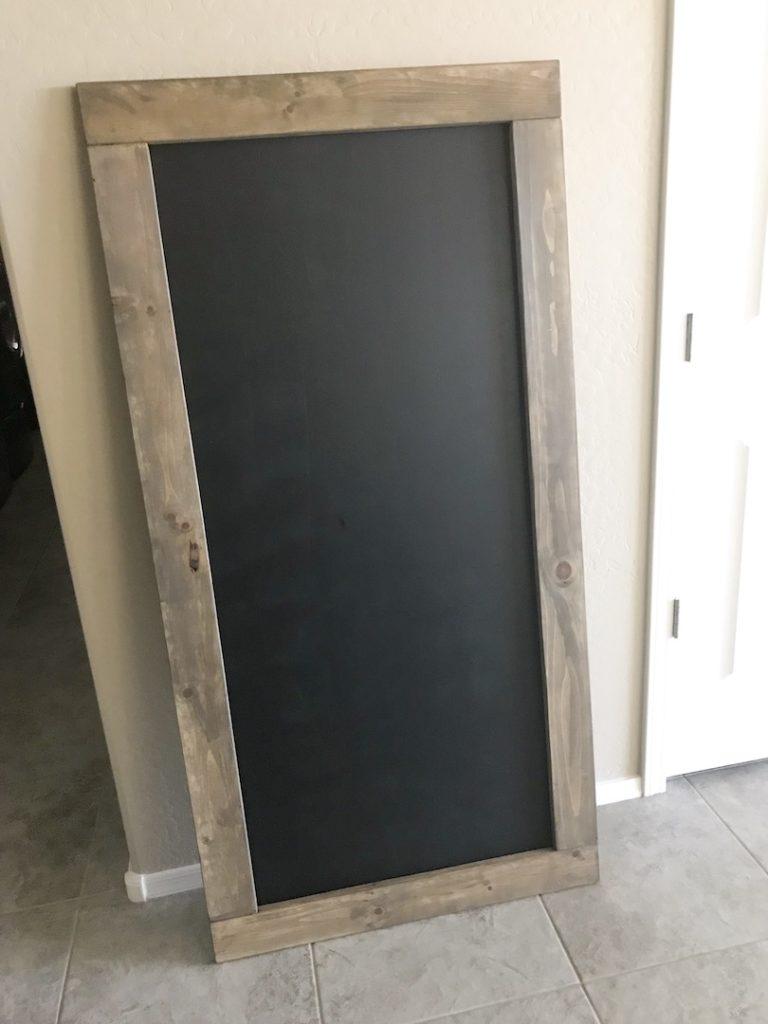 Oversized Rustic Chalkboard