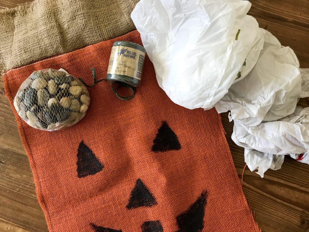 burlap fall craft
