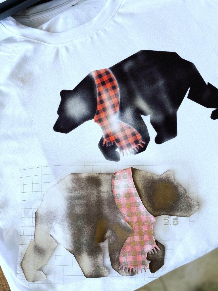 infusible ink transfer bear