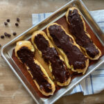 chocolate homemade eclairs