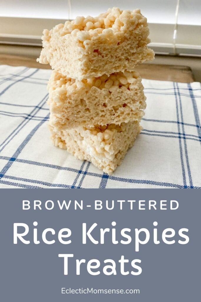 brown butter rice krispie treats