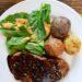 Beer Infused Steak with Peppercorn Pan Sauce