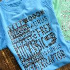 DIY Custom T-Shirt with Cricut Patterned Iron-On