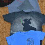 Super-Simple Custom Star Wars t-Shirts