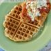 father's day brunch, #NewTraDish, Parmesan Chicken, Oven baked, Chicken & waffles, Ragu